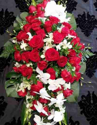 Silver Dove Funeral Floral Tributes 3