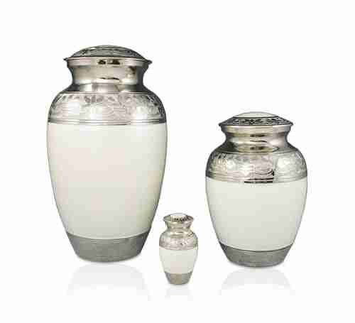 Silver Dove Funerals Cremation Urns 1