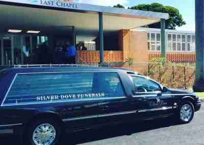Silver Dove Funerals Vehicle 7